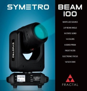 Fractal Lights Symetro Beam 100